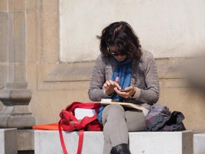 Inte-rim_Management_Blog_Foto_Juergen_Becker_moderne_Kommunikation_in_historischem_Umfeld_Florenz_2018